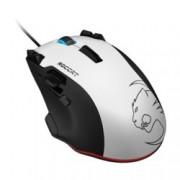 Мишка RОССАТ Tyon, гейминг, Рrо-Аіm лазерен сензор R3 (8200 dрі), бяла, USB