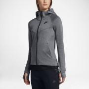 Nike Sportswear Tech Fleece Windrunner Damen-Hoodie mit durchgehendem Reißverschluss - Grau