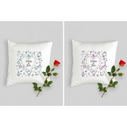 Valentine's Day Personalised Cushion Cover - 10 Designs & 2 Options!