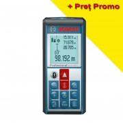 BOSCH GLM 100 C Telemetru cu laser (100 m) cu transfer de date catre telefoane, tablete, PC