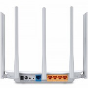 Router TP-Link AC1350 Dual-Band Wi-Fi Router, 802.11ac/a/b/g/n, 867Mbps at 5GHz 450Mbps at 2.4GHz, 5 10/100M Ports, 5 fixed antennas, Beamforming, IPTV, Cloud support, VPN Server, LED Control , W ARCHER-C60