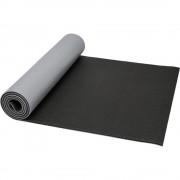 Saltea de Yoga cu suprafata texturata, Everestus, 9IA19034, PVC, Gri, Negru, saculet sport inclus