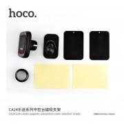 HOCO CA24 Universal Coche Antideslizamiento Consola Central Soporte Para Teléfono Diseño Magnético -negro