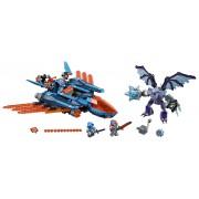 LEGO® NEXO KNIGHTS™ AVIONUL FALCON BLASTER AL LUI CLAY - LEGO (70351)