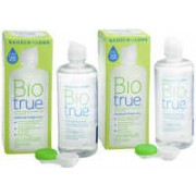 Biotrue Multi-Purpose 2 x 300 ml cu suporturi