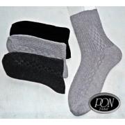 Ponožky dámské silné, velikost 25-26