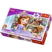 Puzzle clasic copii - Sofia si prietenii ei 30 piese