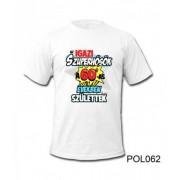 Póló POL062 Szuperhősök a 60-as években születtek L / XL - Tréfás póló