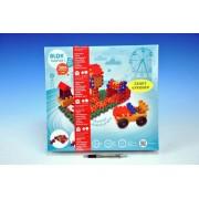 Stavebnice Blok Twister 1 plast 155 dílků v krabici 35x33x8cm