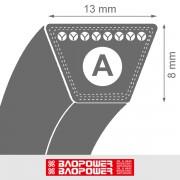 Curea de transmisie trapezoidala A 13x8x836 La / 786 Li - BP