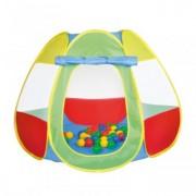 Cort de Joaca Pentru Copii cu 50 Bile Happy Children - Bellox