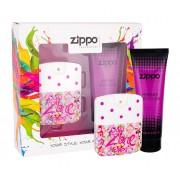 Zippo Fragrances Popzone 40Ml Edt 40 Ml + Body Lotion 100 Ml Per Donna(Eau De Toilette)