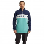 Burton Mikina Burton Lowball 1/4 Zip dress blue/buoy blue