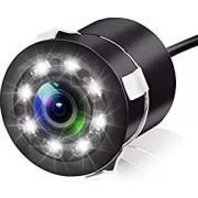 Camera video auto marsarier cu 8 leduri mers inapoi spate 170 grade linii de ghidaj si Night Vision