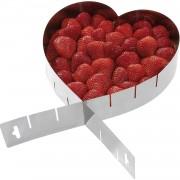 Forma de prajitura flexibila in forma de inima