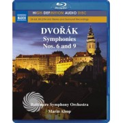 Video Delta Antonín Dvorák - Symphonies nos. 6 and 9 - Blu-Ray