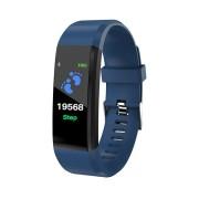 Smart Watch Bluetooth cardiofrequenzimetro LKM Security Blu LKM-OSG115BL