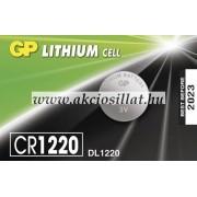 GP Batteries CR1220 Lithium gombelem 1db