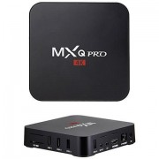 Smart TV adapter, MXQ PRO 4K, Android 9.0 2 GB DDR3 RAM, fekete