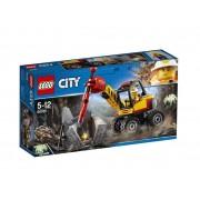 Set de constructie LEGO City Ciocan pneumatic pentru minerit