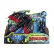 Como Entrenar a tu Dragon The Hidden World Grimmel y Deathgripper Figura de accion 2 pack
