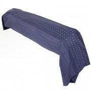 Linnea Taie de traversin 240x43 cm Percale pur coton JAZZ Bleu