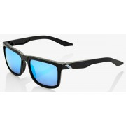 Ride 100% Blake Matte Black Hiper Blue - Matte Black / Hiper Blue Multilayer Mirror Lens