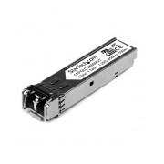 StarTech.com 1000Base-SX SFP Gigabit 850nm LC Mini-GBIC Módulo Transceptor, 550 Metros, Fibra Multimodo, para Cisco