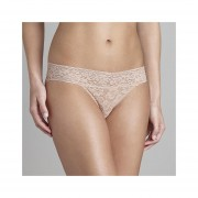 Panty Marca Metaphor Modelo Floral Lace - Beige