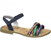 Graceland Blauwe sandaal sierbandjes Graceland maat 36