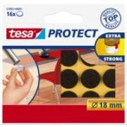 Tesa Potect plstené podložky priemer 18 mm hnedé