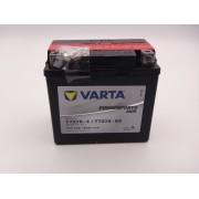 Varta TTZ7S-BS baterie moto, scuter, atv 12V 7Ah AGM 120A cod 507902011A514