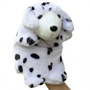 Happy Cherry Kids Story Game Education Props Animal Model Dolls Small Dog Puzzle Hand Puppet Toys - Dalmatian
