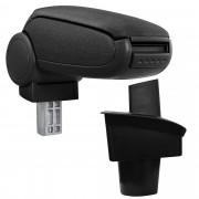 PremiumXL - [pro.tec] Naslon za ruke – specifičan za VW Passat B6 3C - naslon za ruke za auto - sa pretincem - tkanina - crno