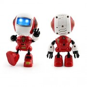 Mini Sensing Touch Robot, Hohaski Multi-function Music Lighting Smart Robots Toy by 3+ Age Boys Girls (Red)