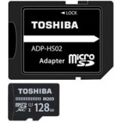 Toshiba M203 128 GB MicroSDXC Class 10 100 MB/s Memory Card(With Adapter)