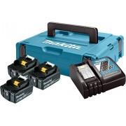 LXT set u koferu Makpac 1,BL1840x3kom + DC18RC PUNJAC