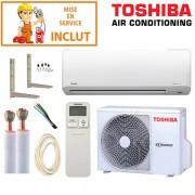 TOSHIBA Pack Confort Climatiseur Toshiba SUZUMI-13 + RAS-13N3AV-E
