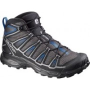 Salomon X ULTRA MID AERO Hiking & Trekking Shoes For Men(Black, Blue)