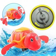 Walk Along Wind Up Plastic Turtle Animal Fun Educational Toy for Toddler Walking and Crawling Learning