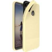 Husa de protectie Huawei P20 Lite Dux Ducis rezistenta la socuri cu placuta metalica auriu