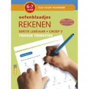 Tijd voor Huiswerk Oefenblaadjes- rekenen tweede trimester 6-7 jaar