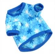 Csillagos kutyarpóló kék színben