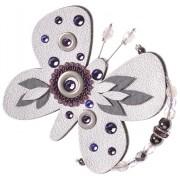 Petra Švarcová Stříbrná brož Motýl
