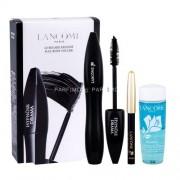 Lancome Mascara Hypnose Drama Kit 6,5ml за Жени - спирала 6,5 ml + молив за очи Le Crayon Khol 0,7 g 01 Noir + почистващ продукт за очи Bi-Facil 30 ml Нюанс - 01 Excessive Black