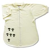 Spací vak pre bábätká - Huby, žltý veľkosť: 74