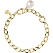 Morellato Masívní ocelový náramek s pravou perlou Oriente SARI06