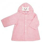 ≪ミキハウスファースト≫バスローブギフト(ピンク)