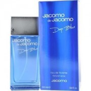 Jacomo de jacomo deep blue 100 ml eau de toilette edt profumo uomo