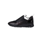 【67%OFF】異素材コンビ スニーカー ブラック 41 ファッション > 靴~~メンズシューズ